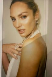 Candice Swanepoel - Photoshoot During the Cannes Film Festival July 2021