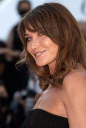 "Carla Bruni – ""De Son Vivant (Peaceful)"" Red Carpet at the 74th Cannes Film Festival"