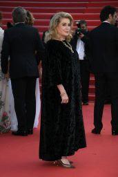 """Catherine Deneuve – """"De Son Vivant (Peaceful)"""" Red Carpet at the 74th Cannes Film Festival"""