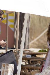 Catherine Harding on the Beaches of Ibiza 07/25/2021