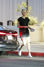 Charlize Theron - Mr Chow Restaurant in Beverly Hills 07/19/2021