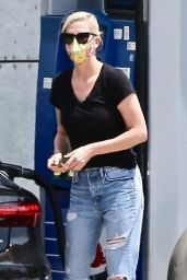 Charlize Theron - Running Errands in West Hollywood 07/24/2021