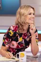 Charlotte Hawkins - Good Morning Britain TV Show in London 07/02/2021
