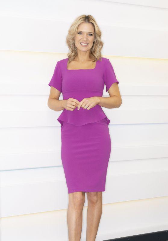 Charlotte Hawkins - Good Morning Britain TV Show in London 07/05/2021