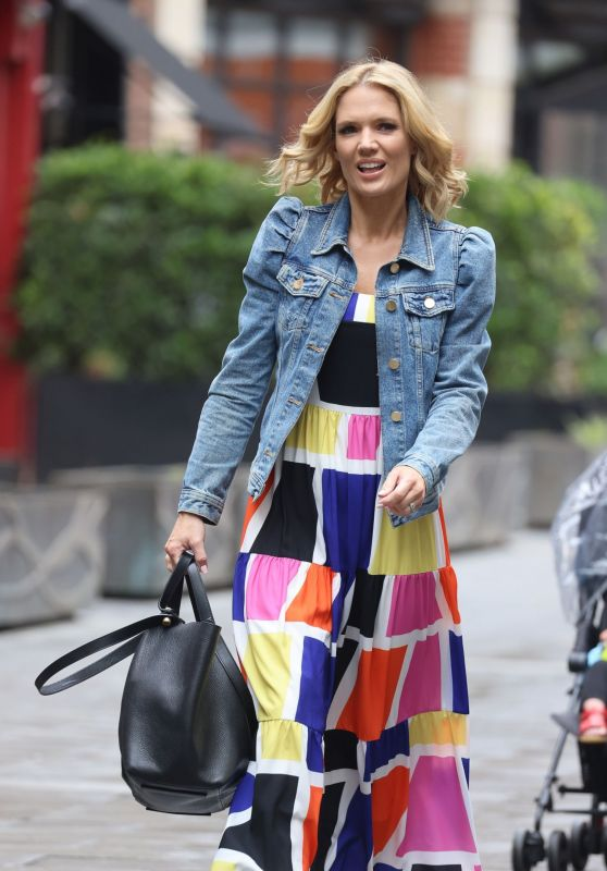 Charlotte Hawkins - Out in London 07/30/2021