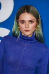 """Charlotte Lawrence - """"Ted Lasso"""" Season Two Premiere West Hollywood"""