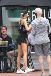 Charlotte McKinney at Erewhon in Santa Monica 07/06/2021