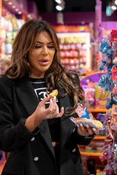 Chloe Ferry - Shopping at Kingdom Of Sweets in Liverpool 07/07/2021