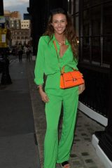 Chloe Veitch in London's Covent Garden 07/29/2021