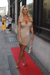 Christine McGuinness - Porchester Hall in Westminster 07/22/2021