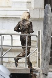 Ciara in Animal Print - Venice 07/04/2021