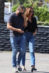 Cindy Crawford and Rande Gerber - Shopping in West Hollywood 07/29/2021