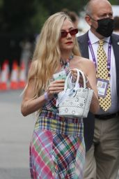 Clara Paget at the 2021 Wimbledon Tennis Championships in London 07/05/2021