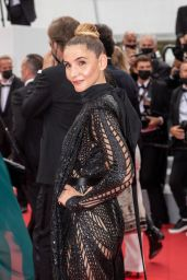 """Clotilde Courau – """"The French Dispatch"""" Premiere at the 74th Cannes Film Festival"""