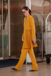 Coco Rocha at the Martinez Hotel in Cannes 07/12/2021
