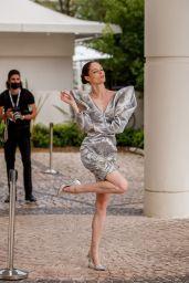 Coco Rocha - Martinez Hotel in Cannes 07/12/2021