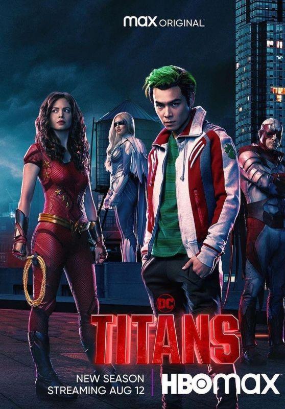 "Conor Leslie - ""Titans"" Season 3 Poster and Trailer"