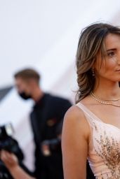 """Delphine Wespiser - """"Aline, The Voice Of Love"""" Red Carpet at the 74th Cannes Film Festival"""
