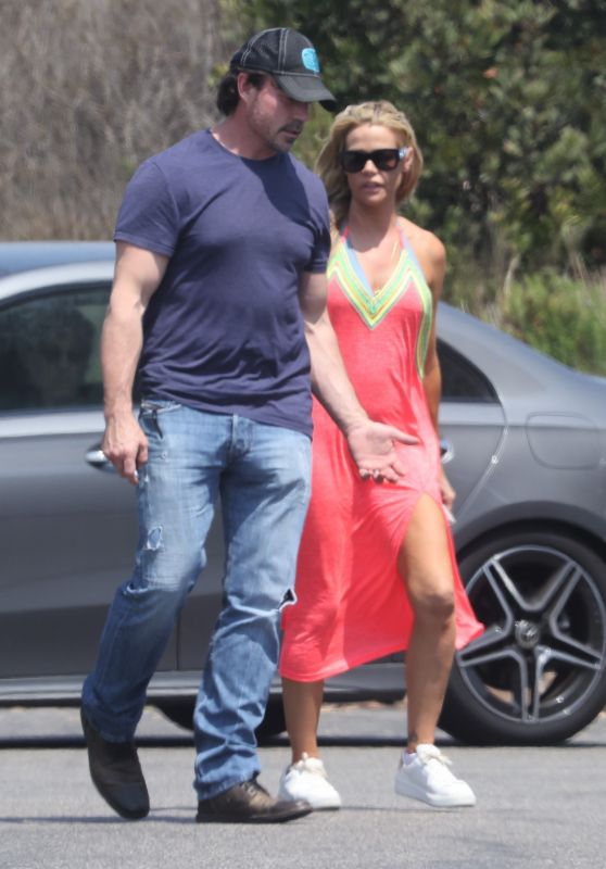 Denise Richards and Aaron Phypers - Out in Malibu 07/13/2021