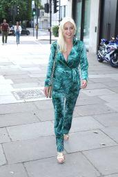 Denise Van Outen at Proud Embankment in London 07/02/2021