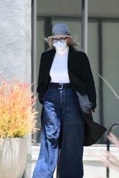 Diane Keaton - Running Errands in LA 07/01/2021
