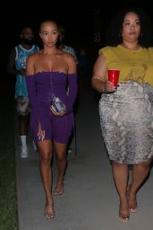 Draya Michele Night Out Style - Pool Party in Encino 07/07/2021