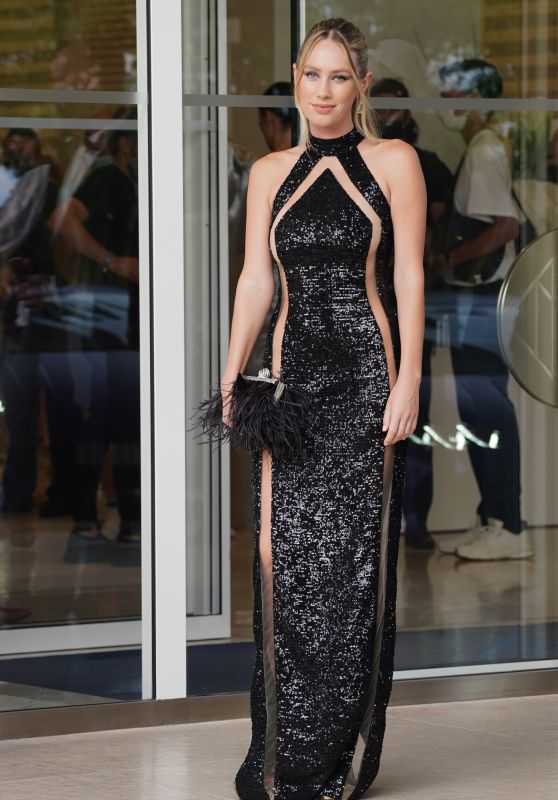Dylan Frances Penn - Leaving the Martinez Hotel in Cannes 07/12/2021