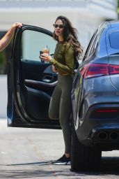 Eiza Gonzalez - Booty in Tights in West Hollywood 07/07/2021