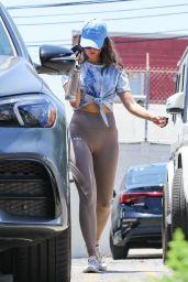 Eiza Gonzalez in Workout Gear - West Hollywood 07/07/2021
