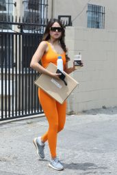 Eiza Gonzalez in Workout Outfit - West Hollywood 06/29/2021