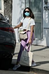 Eiza Gonzalez - Shopping in Beverly Hills 07/16/2021