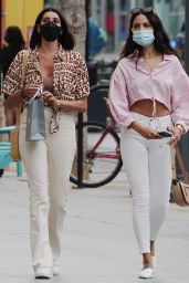Eiza Gonzalez Street Style - Shopping at Sephora in Santa Monica 07/23/2021