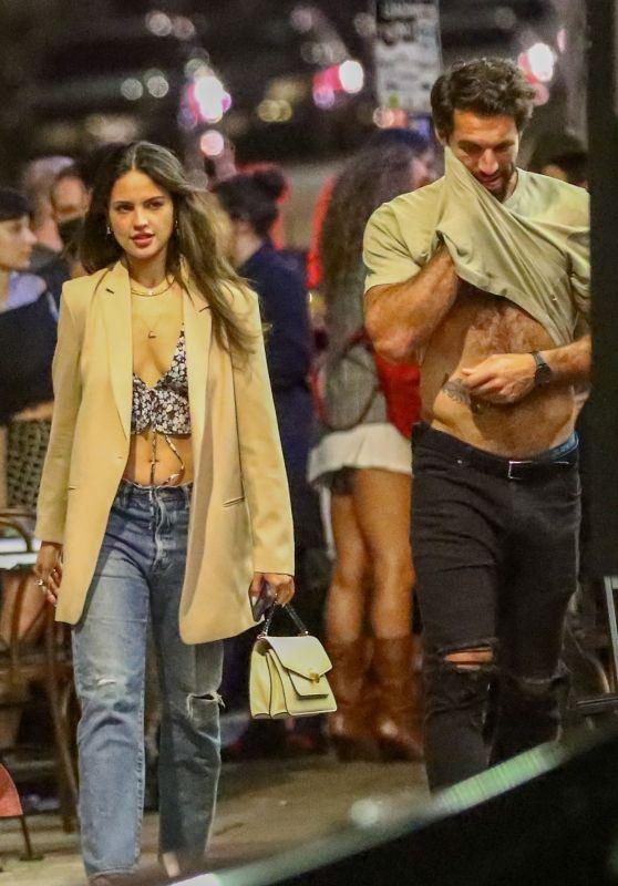 Eiza Gonzalez With Barbara Palvin and Boyfriend Paul Rabil in West Hollywood 07/17/2021