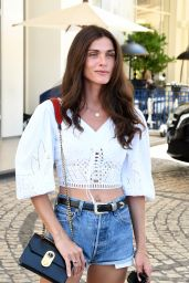 Elisa Sednaoui at the Martinez Hotel in Cannes 07/06/2021