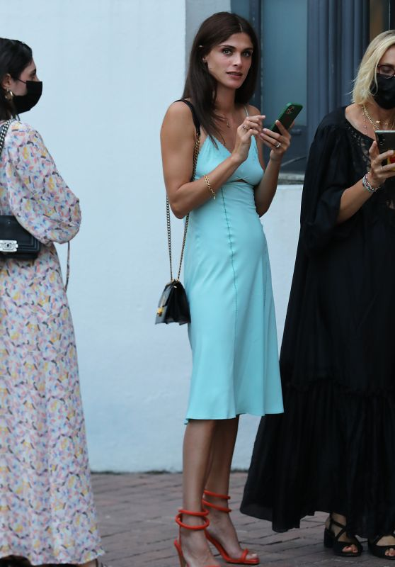 Elisa Sednaoui - Leaving Hotel Le Majestic in Cannes 07/06/2021