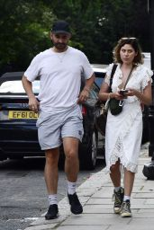 Eliza Doolittle - Out in North London 07/20/2021