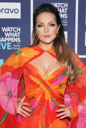 Elizabeth Gillies - Watch What Happens Live with Andy Cohen in NYC 07/21/2021
