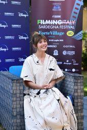 Elizabeth Olsen - Filming Italy Festival Photocall in Santa Margherita di Pula 07/22/2021