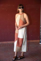 Elizabeth Olsen - Filming Italy Festival Press Conference 07/22/2021