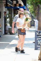 Elizabeth Olsen - Out in Los Angeles 07/15/2021