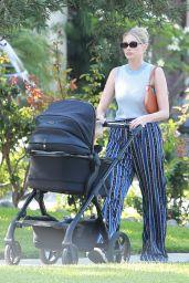 Elsa Hosk Street Style - Near Her Home in Pasadena 07/11/2021