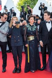 "Elsa Zylberstein – ""Tout S'est Bien Passe"" Red Carpet at the 74th Cannes Film Festival"