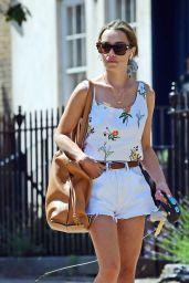 Emilia Clarke Summer Street Style - London 07/25/2021