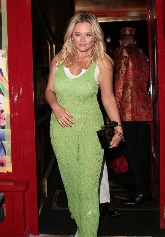 Emily Atack - Outside The Ivy Asia Launch in Chelsea 07/29/2021