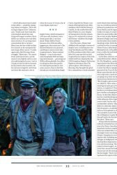 Emily Blunt and Dwayne Johnson - The Hollywood Reporter 07/21/2021 Issue