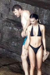 Emily Ratajkowski in a Bikini in Italy, July 2021