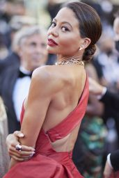 """Emma Weymouth – """"Aline, The Voice Of Love"""" Red Carpet at Cannes Film Festival"""