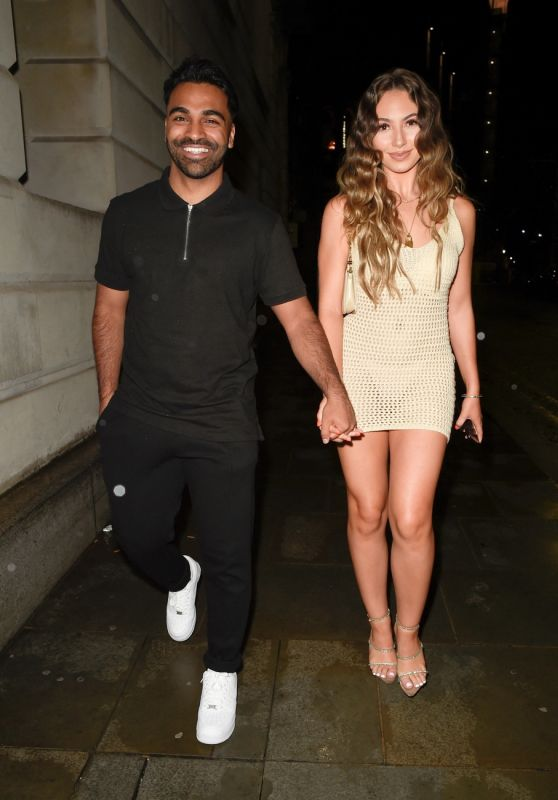 Eva Zapico - I Saw It First Love Island Party at Rosso Restaurant in Manchester 06/28/2021