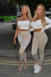 Eve Gale and Jess Gale - HLD Management Studios in London 07/13/2021