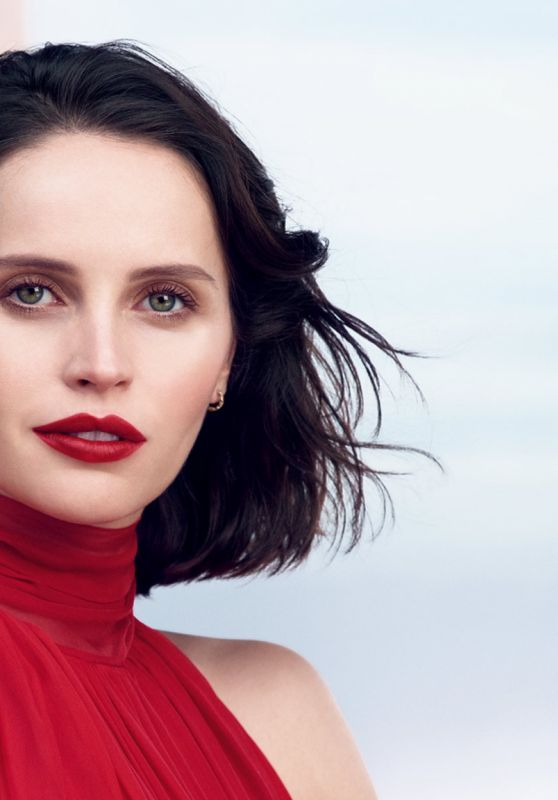 Felicity Jones - Clé de Peau Beauté Triple Desire Unlocked Spring/Summer 2021 Campaign